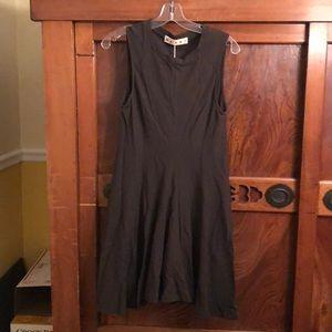 Authentic Marni dark olive tunic dress  sz 42 NWT